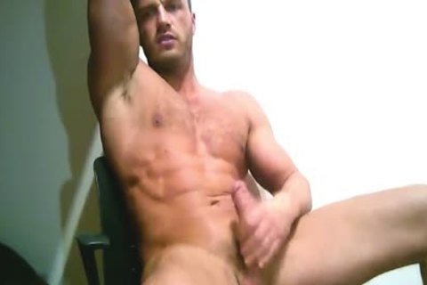 Male penis massage video