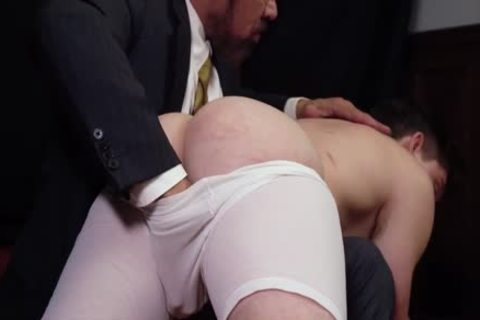 MormonBoyz - Priest Daddy Spanks knob wazoo Bent Over Knee