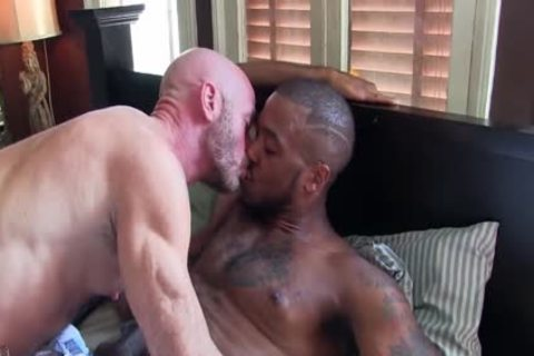 older Interracial And bare