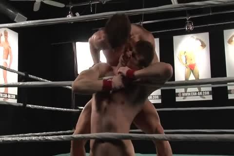 Rusty And Kevin Wrestle
