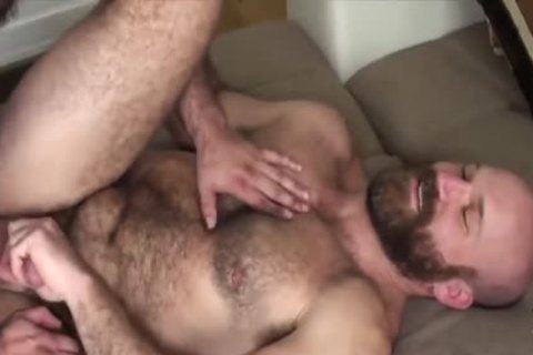 HubxDaddy meaty Body Chest Hair Bear Daddy bonks Sex