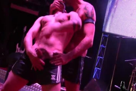 Turbo Leon & Manu Perronash Public homosexual plow At SEM 2016