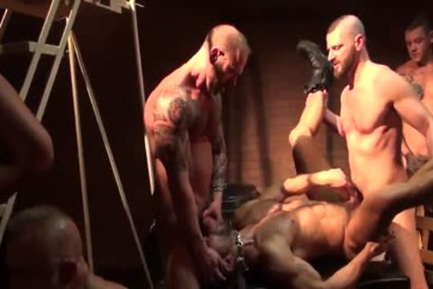 Seth Santoro's group gangbang Part 1