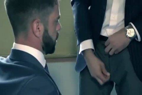 HubxPorn Beard Male Manager's sexual Temptation
