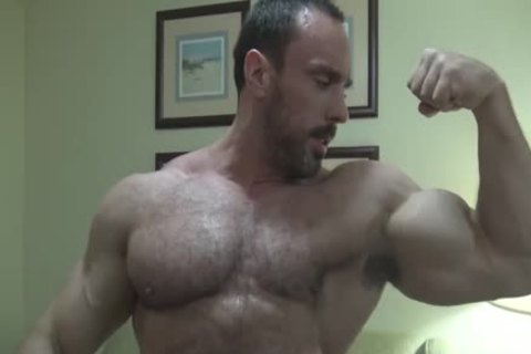 Verbal shaggy Bodybuilder Worship (no sperm Or Full Frontal)