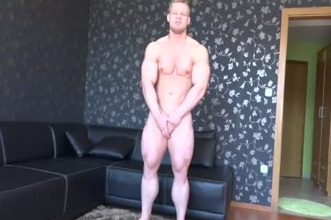 Gary undresses stripped