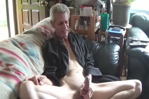Skinny older twink Jerks Himself Off On Camera