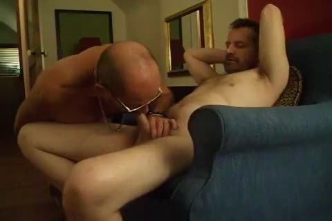 two doxies servicing dick