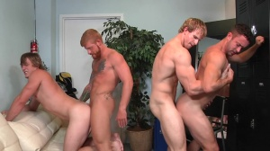 Swingers - Cameron Foster and Bennett Anthony butt Love