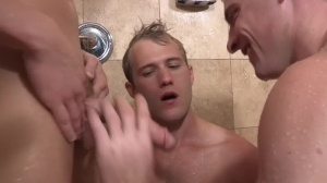 unprotected trio With Sean, Blake, And Curtis - anal Scene