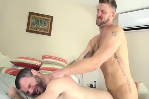Christian And Dusty poke bare