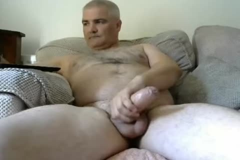 Daddy Bear throbbing penis