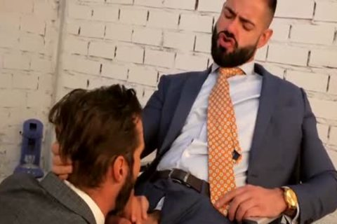 Are cock sucking jocks in suits