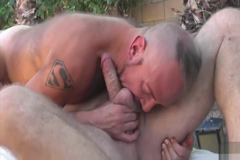 Backyard painfully Two Daddies On lad