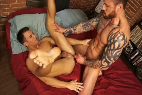 Randyblue.com - Jordan Levine plows Brett For The Holidays