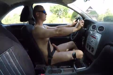 Drive undressed And Masturbation Outdoor
