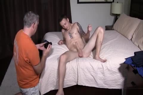Daddy Breeds yummy twink With taut Little arse