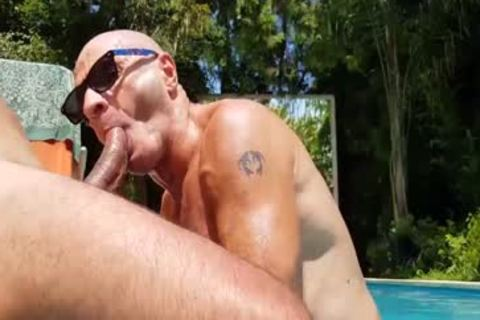POOL banging friends By Body Massage