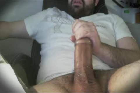Bear thick bulky penis Hard wank With Tenga Egg Masturbator