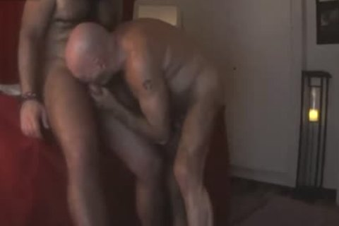 BEAR chap MASSAGE oral-sex AND nailing By Nudemassage