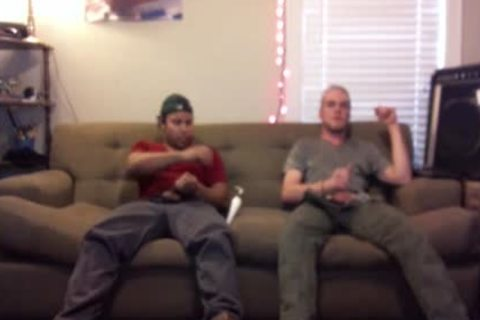 couple Of guys could not Afford The Bill, So They Jerked Off. They did not Know I Filmed It.