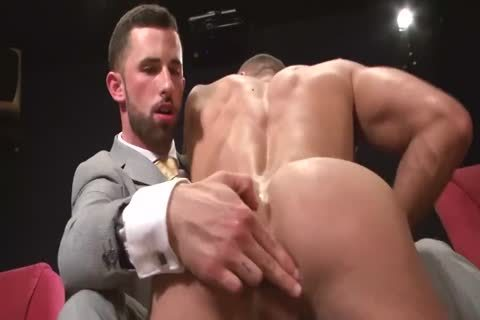 2 lusty dudes Having Sex In A clip