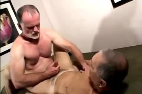 Two Daddies banged Each Other And Cumming