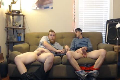 this man said he Was Straight, But did not action Like It When jerking off With This Other dude On Secret cam