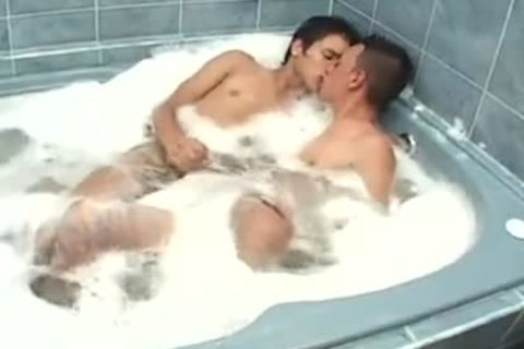 twinks In The Bathtub unprotected Hard Sex