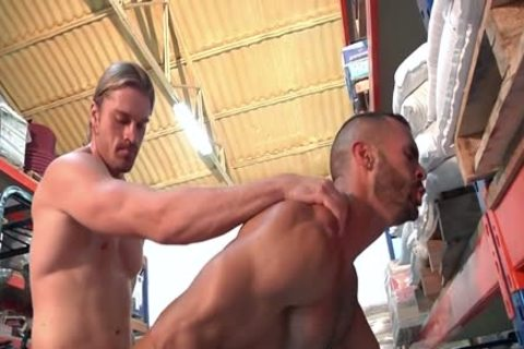 Two delicious Hunks Take Turns banging Each Other.