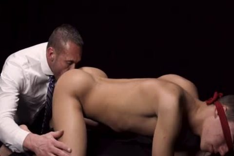 Ripped Priest bonks A Missionary lad With A Blindfold ON