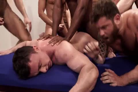 The Lucas men gang, group sex, And plow (1)