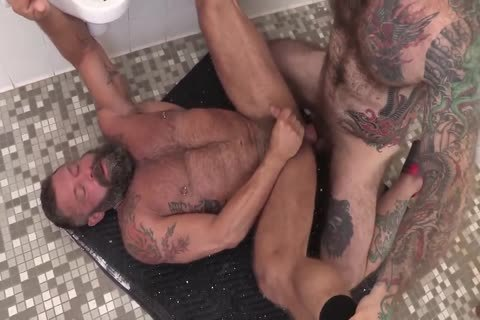 raw MuscleBear nail With J Dixon & J Jones