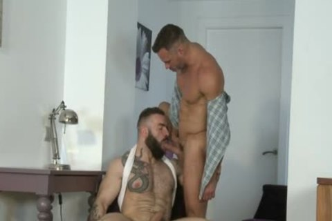 Manuel Skye & Max Hiltom pounding Each Other undressed