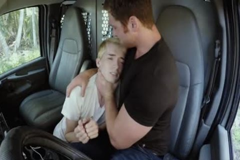 blonde lad Needs A Ride