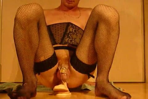 Sissy In Chastity Play