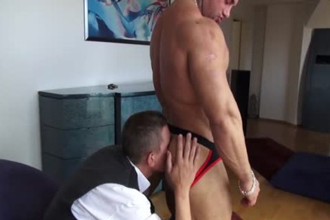 Sascha Zalman, humongous Muscle Worship And pounding