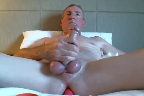 gigantic Dicked daddy jerking off 035
