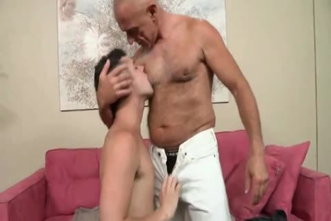 Bald Silver Daddy And eager Bottom twink