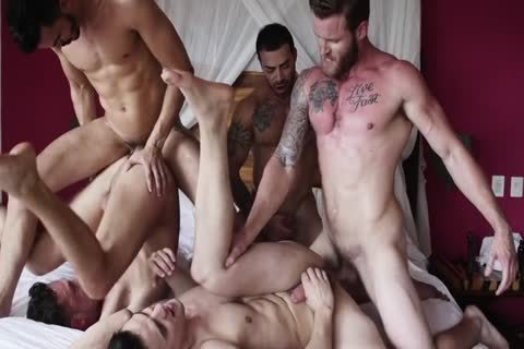 5-some bare Groupsex
