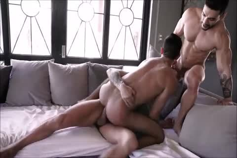delicious Spanish bareback three-some With Daddies And delicious Hunky Son