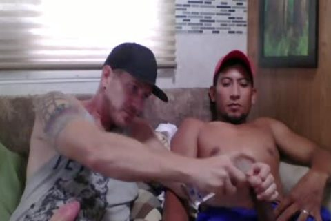 Straight Latino Construction Worker acquires First cook jerking From A chap (Martin 2)