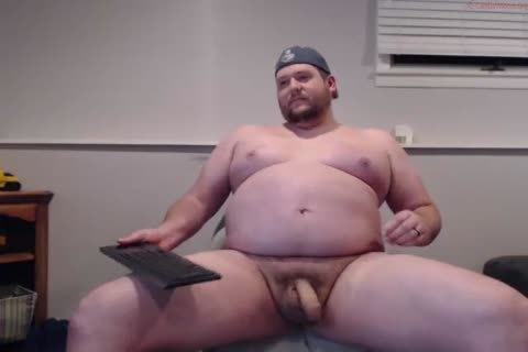 charming overweight Straight cock disrobes N Cums