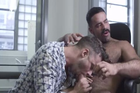 The Office, Part 1 – Teddy Torres plows Damon Heart unprotected
