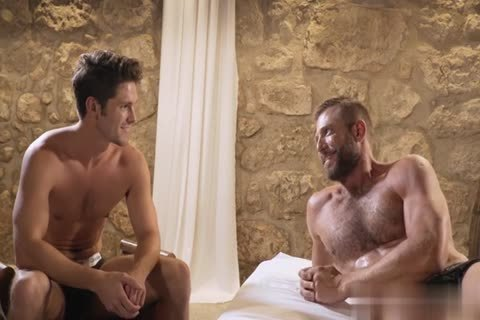 GayRoom - Dylan Knight pounded By A Plunger And Peter Fields big dick