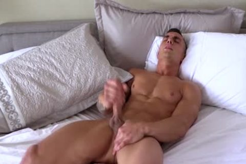 Different dudes With massive ramrods Jerking-off