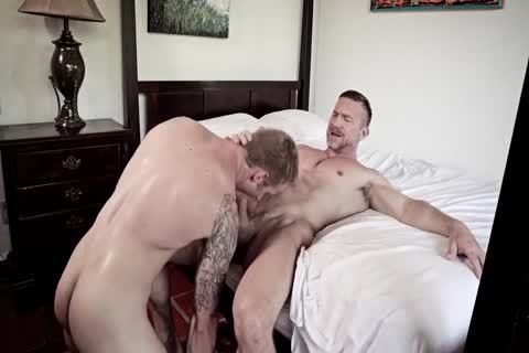 classy homosexual males raw poke And Show Off Their Muscles