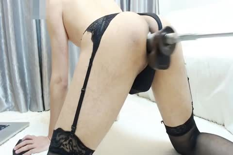 nailing Machine Hard Japanese Crossdresser Part1