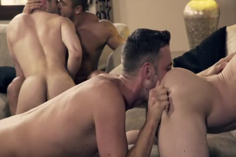 Ben Bateman Takes two cocks In excellent bare orgy