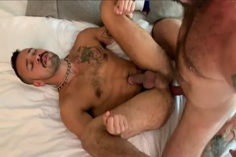 Two dudes banging tight bare